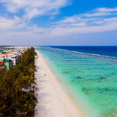 Hulhumale - Beach